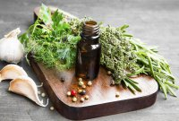 CBD and herbs for immune system health