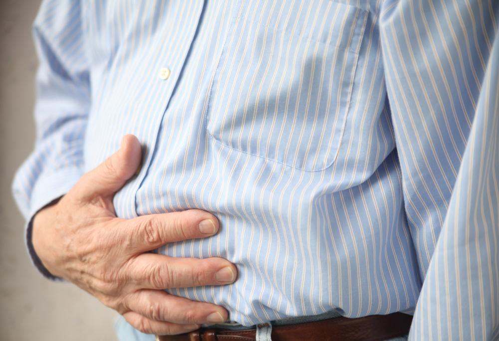 Man with Stomach Pain CBD for gastrointestinal disorders