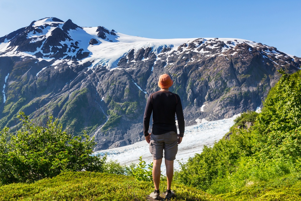 Hiker Alaska