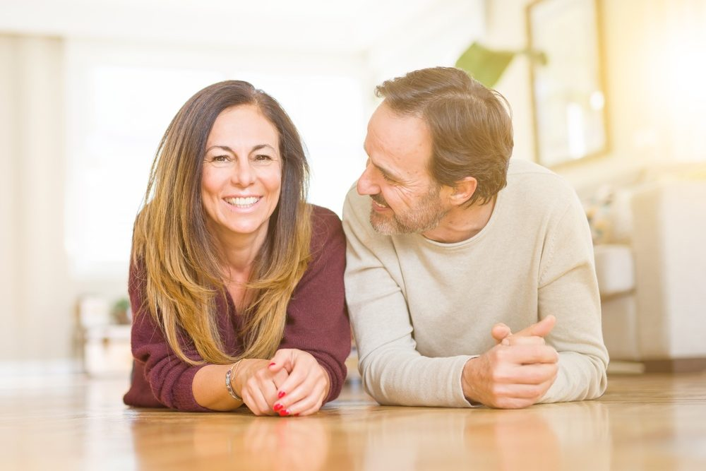 effects of CBD- concept middle age couple